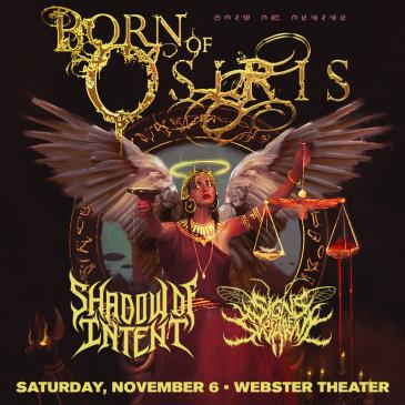Born of Osiris – Angel or Alien Tour: