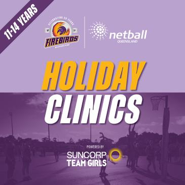 Holiday Clinics - Thurs 23rd Sept - Nissan Arena-img