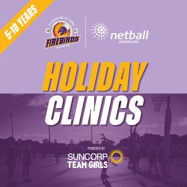 Holiday Clinics - Tues 21st Sept - Springfield: