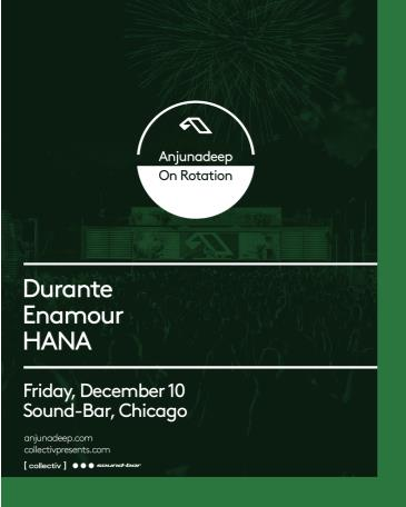 Night 2: Anjunadeep On Rotation at Sound-Bar: