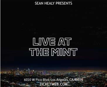 Sean Healy Presents:  Heaven Shamba, Jamaal Cody, Vaughn: