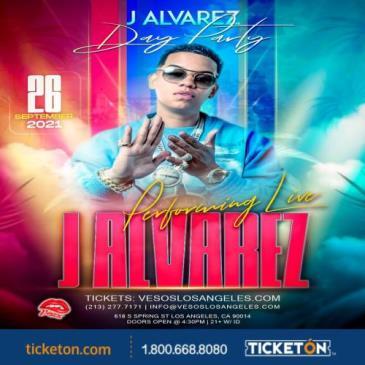 VESOS DAY PARTY WITH J ALVAREZ PERFORMING  LIVE