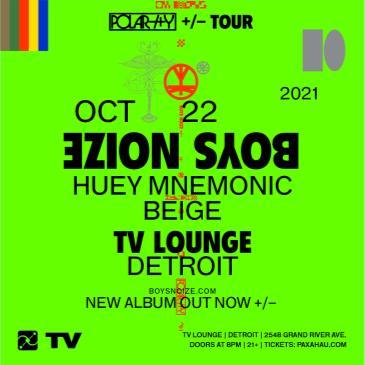Paxahau Presents Boys Noize Polarity Tour - Detroit: