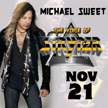 Cancelled: Michael Sweet - Solo Acoustic Performance-img
