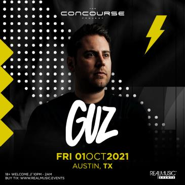 FREE SHOW: Guz at The Concourse Project:
