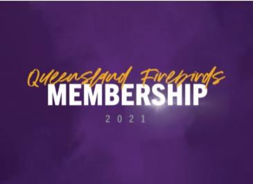 Queensland Firebirds Membership: