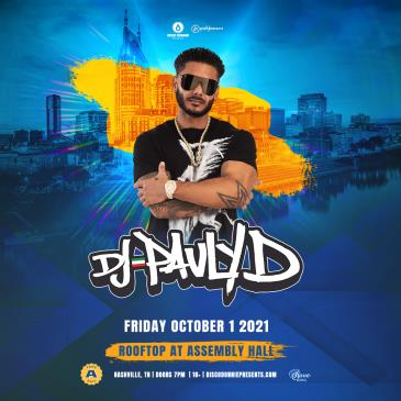 Pauly D Rooftop Party in Nashville: