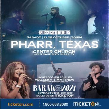 BARAK 2021 SHEKINAH TOUR: