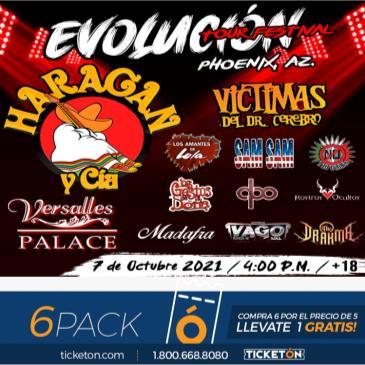 EVOLUCION TOUR FESTIVAL: