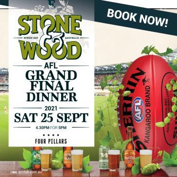 Stone & Wood Grand Final Dinner: