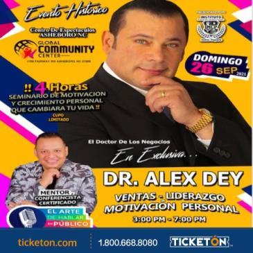 DR. ALEX DEY: