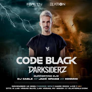 RVLTN & Elation presents Code Black & Darksiderz (18+)-img