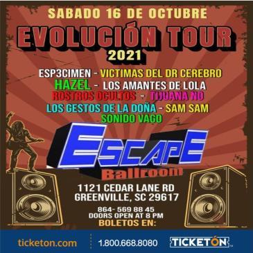 EVOLUCION TOUR 2021 EN SC