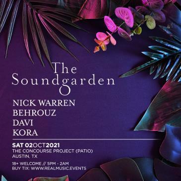Soundgarden ft. Nick Warren, Behrouz, Davi & Kora (Patio):