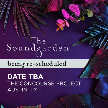 Rescheduled:Soundgarden ft. Nick Warren, Behrouz,Davi & Kora: