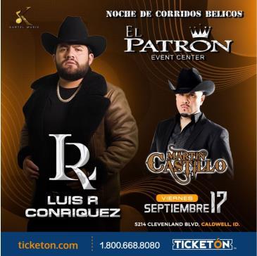 LUIS R CONRIQUEZ Y MARTIN CASTILLO: