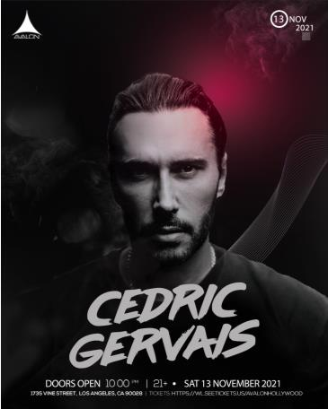 Cedric Gervais: