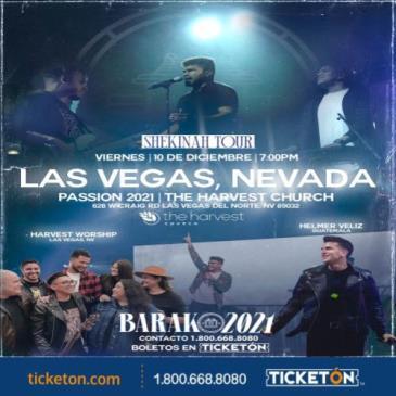 BARAK SHEKINAH TOUR- PASSION 2021: