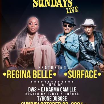 Soulful Sundays Live w/ Regina Belle / Surface / DW3-img
