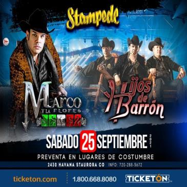 MARCO FLORES CON HIJOS DE BARRON: