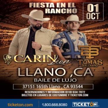 CARIN LEON EN LLANO CA: