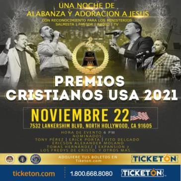 PREMIOS CRISTIANOS USA 2021:
