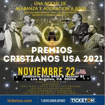 PREMIOS CRISTIANOS USA 2021