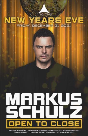 NYE2022: Markus Schulz - Open to Close: