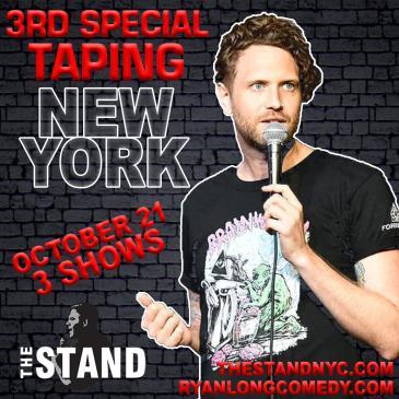 Ryan Long Standup Special Recording!-img