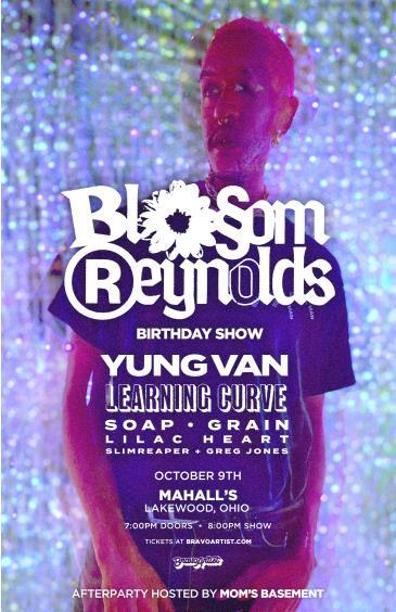 Blossom Reynolds birthday show at Mahall's: