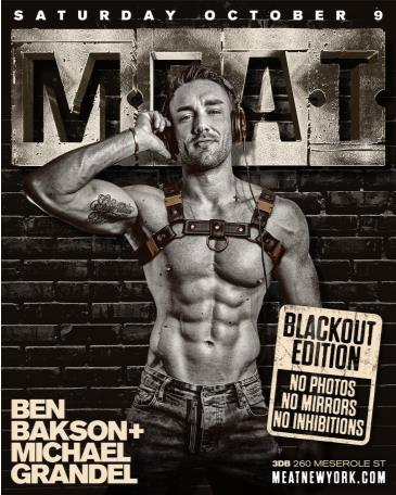 M.E.A.T. BLACKOUT EDITION - BEN BAKSON + MICHAEL GRANDEL: