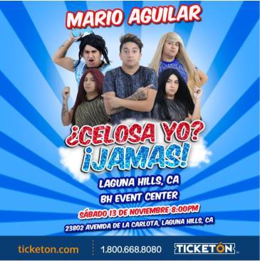 MARIO AGUILAR CELOSA YO? JAMAS!:
