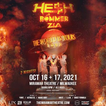 HE$H - Bommer - ZÍA (Night 2):