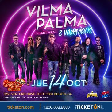 VILMA PALMA E VAMPIROS EN ATLANTA