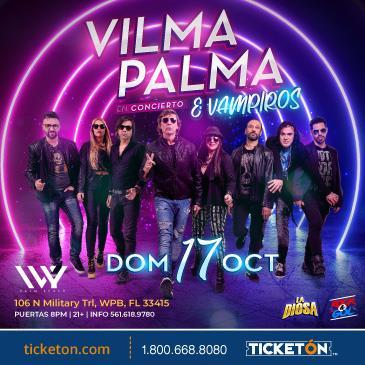VILMA PALMA E VAMPIROS EN WEST PALM BEACH: