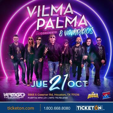 VILMA PALMA E VAMPIROS EN HOUSTON