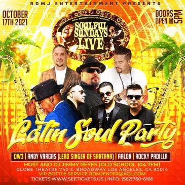 Soulful Sundays Live w/ Andy Vargas /DW3/Aalon/Rocky Padilla-img