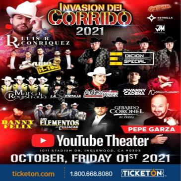 INVASION DEL CORRIDO 2021 / THE OFFICIAL AFTERPARTY