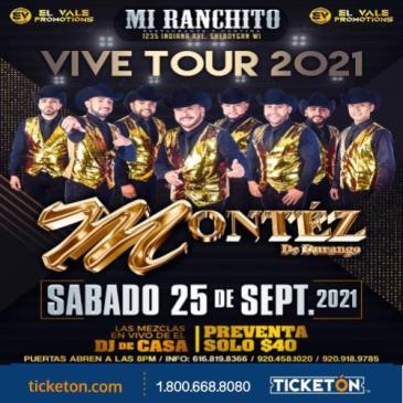 MONTEZ DE DURANGO VIVE TOUR 2021