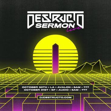 Destructo LIVE SERMON: