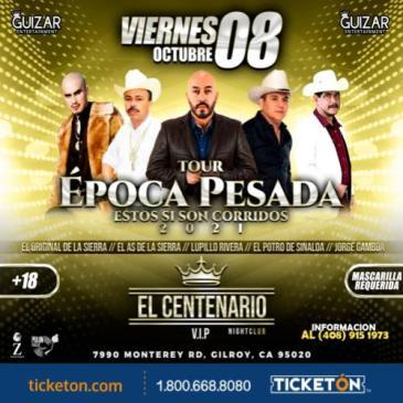 TOUR EPOCA PESADA EN GILROY CA: