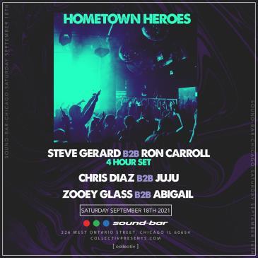 Hometown Heroes at Sound-Bar: