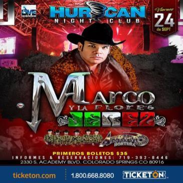 MARCO FLORES Y LA JEREZ