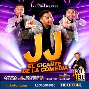 JJ EL GIGANTE DE LA COMEDIA: