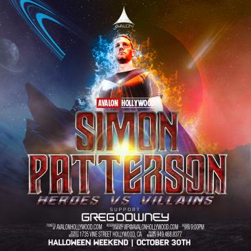 Heroes & Villains Halloween w Simon Patterson & Greg Downey:
