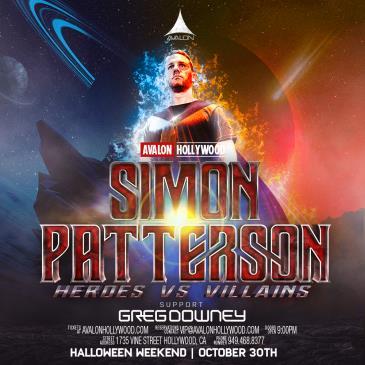 Heroes & Villains Halloween w Simon Patterson & Greg Downey-img