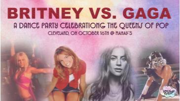 Britney vs Gaga at Mahall's: