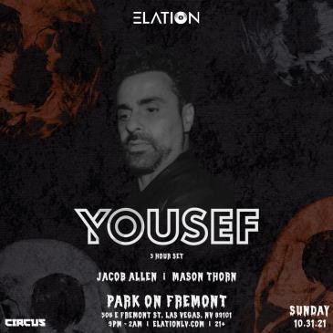 Elation presents Yousef (3 Hour Set) (21+):