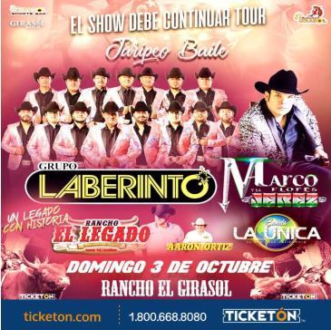 LABERINTO, MARCO FLORES Y MAS!: