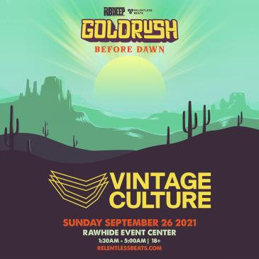Vintage Culture | Goldrush Day 3 Afterparty: